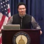 Ryan Bomberger of The Radiance Foundation speaks at the Family Research Council