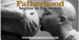 "The Radiance Foundation's ""FATHERHOOD BEGINS IN THE WOMB"""