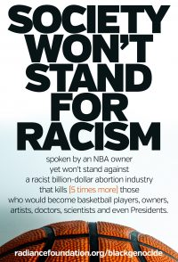 """Sterling Racism"" by The Radiance Foundation"