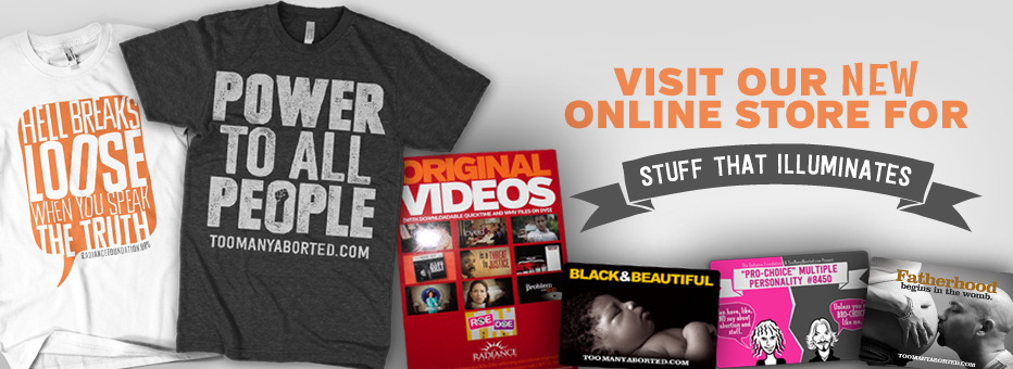 Go to our ONLINE STORE for Stuff That Illuminates!