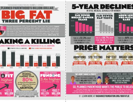 """""""BIG FAT 3% LIE"""" by The Radiance Foundation"""