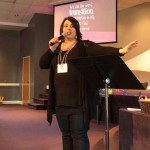 Bethany speaks powerful words at DNA Women's Conference.