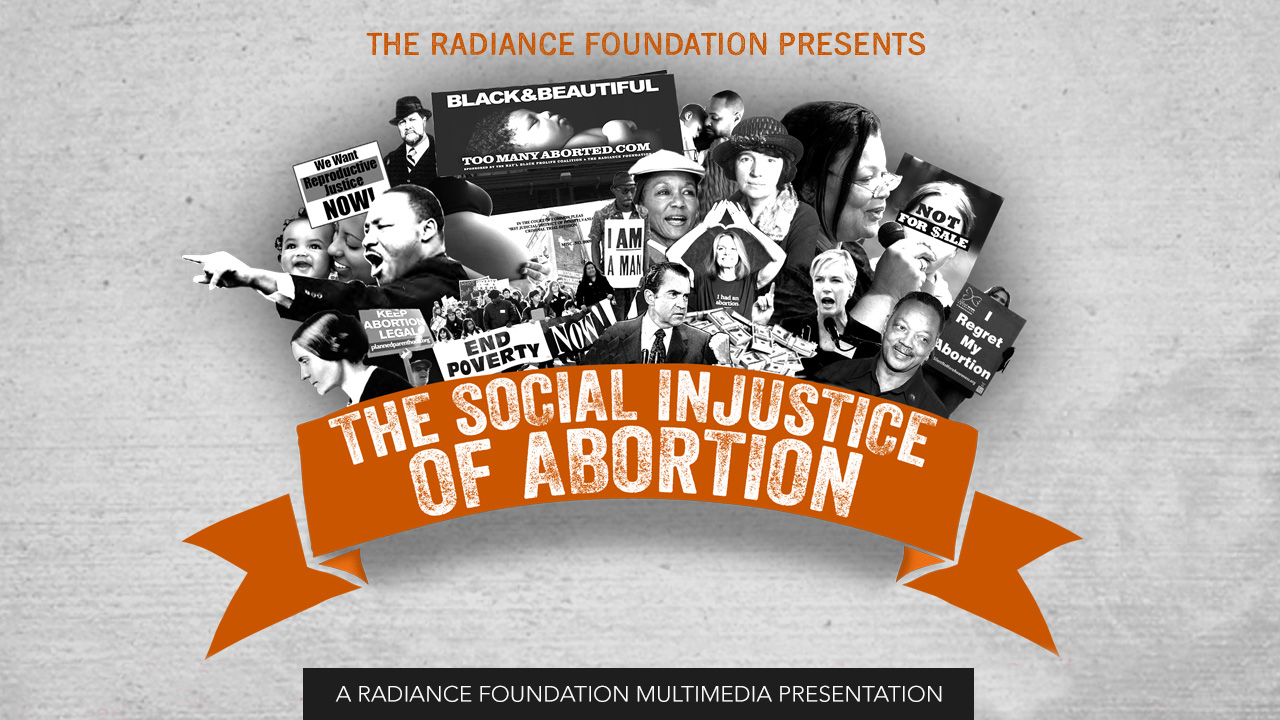 """""""The Social Injustice of Abortion"""""""