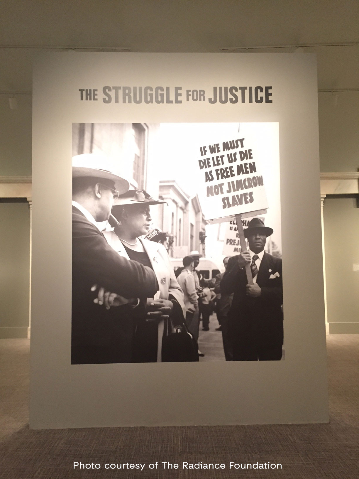 """Struggle For Justice"" Exhibit - National Portrait Gallery"