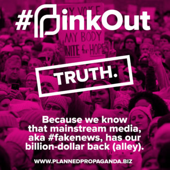 #PINKOUT: #FakeNews Has Our Back