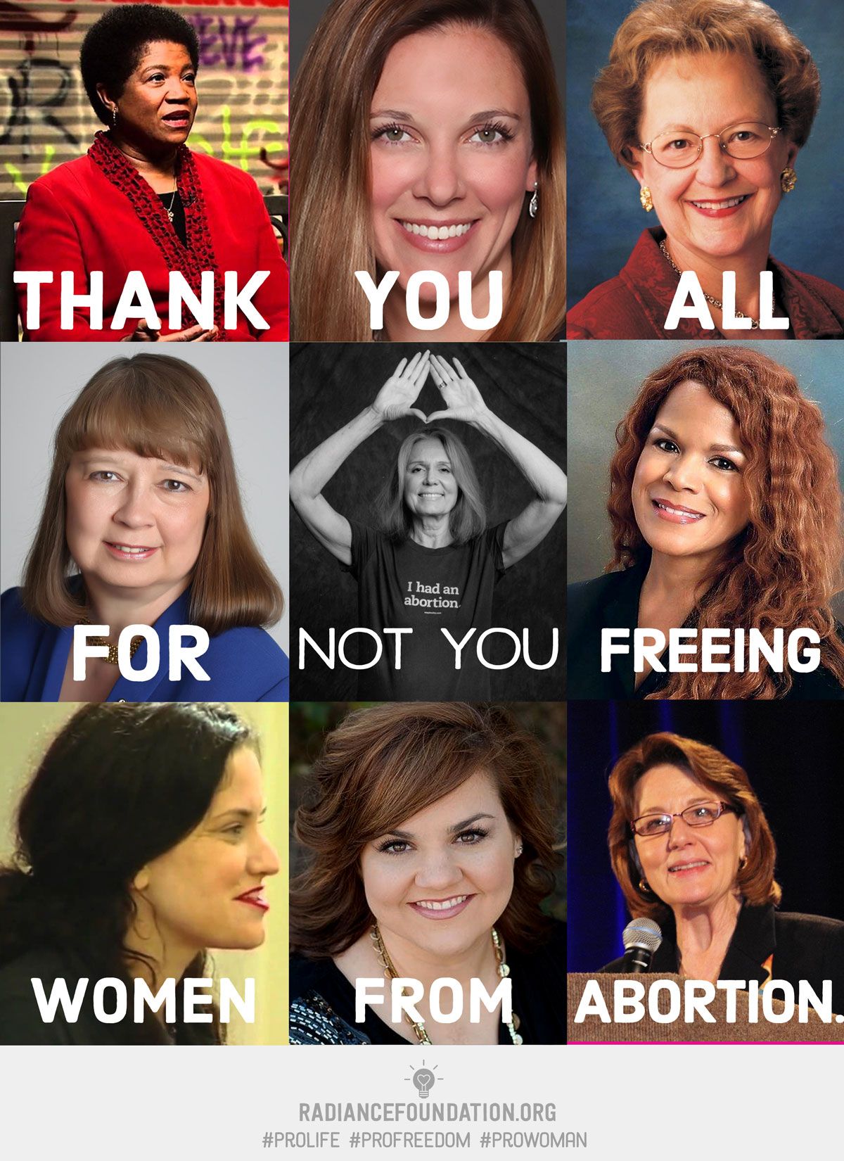 not you meme profreedom the courageous pro life women who fight for real equality the