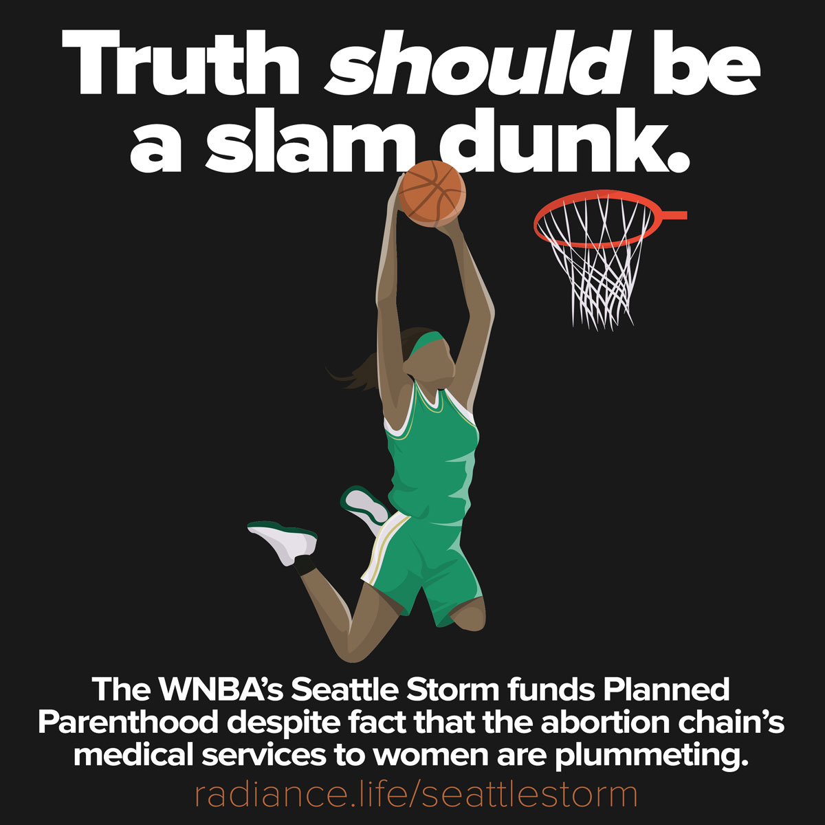 Seattle Storm Partners with Planned Parenthood