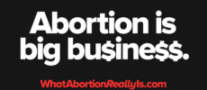 Abortion is big business. WhatAbortionReallyIs.com