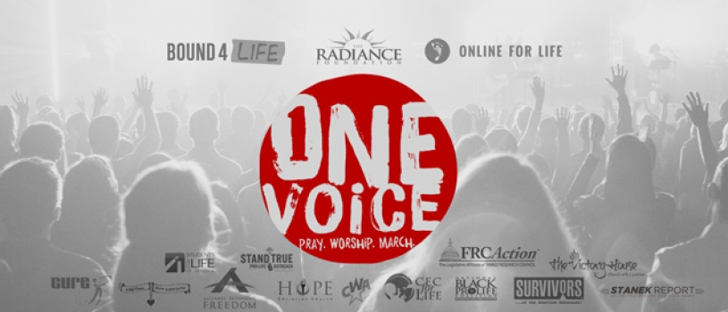 OneVoiceDC Launches as First Non-Denominational Prayer And Worship Event at the Annual March For Life